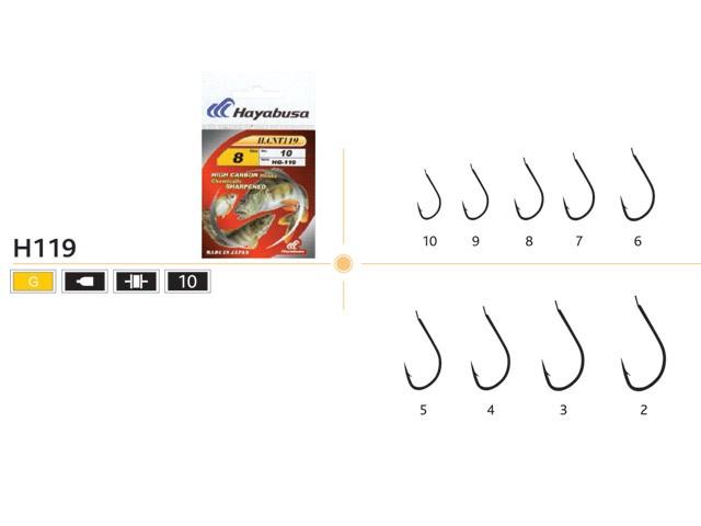 Ace pescuit HG119 set 10 bucati