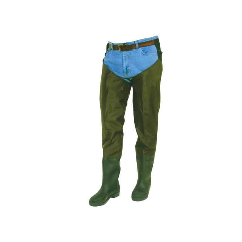 Cizme sold (soldare) PVC Behr, nylon-PVC, culoare verde 41 EU
