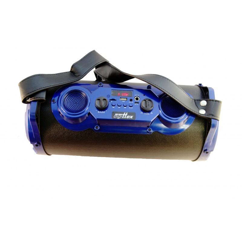 Boxa portabila karaoke cu acumulator DIGITTEX 6610 25 W, radio FM, USB/MicroSD/Bluetooth