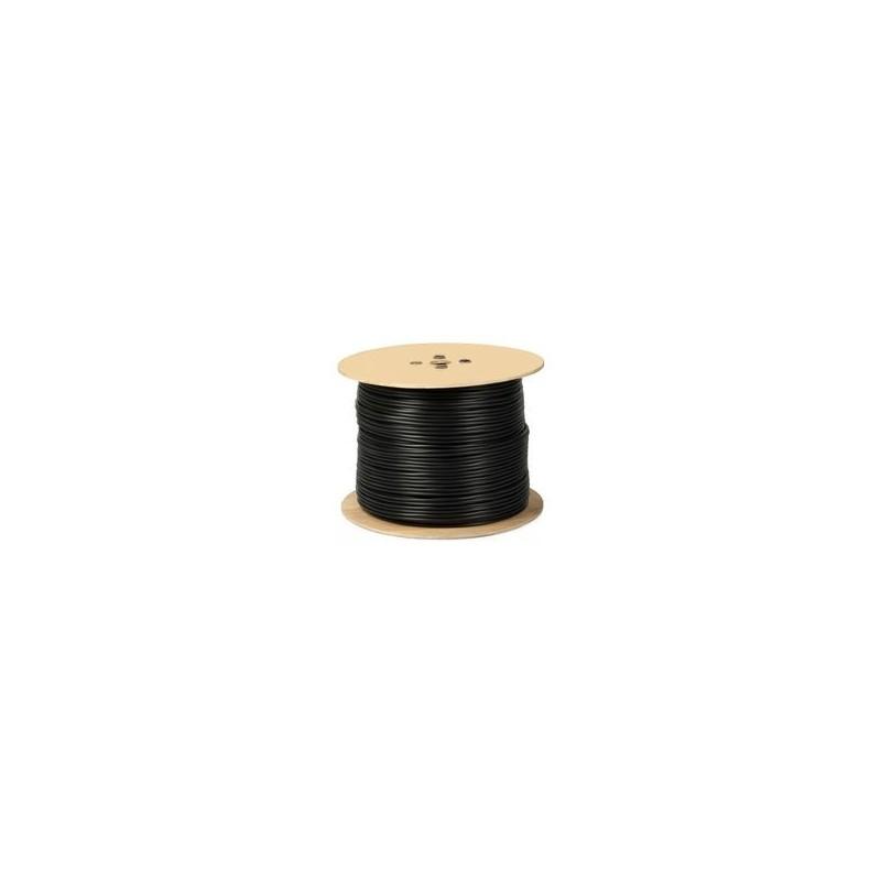 Cablu RG6, negru, Datamaxx 305m/rola TRIPLUECRANAT