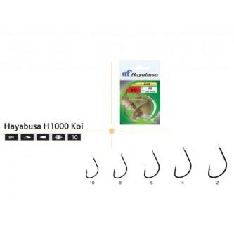 Ace pescuit Hayabusa H1000 KOI set 10 bucati