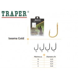 Ace pescuit Iseama Gold Set 10 ace legate
