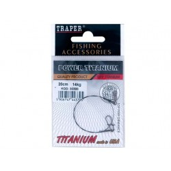 Struna titanium Traper 14kg / 20cm