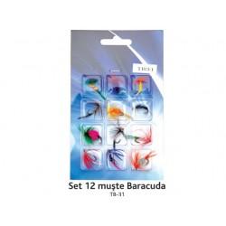 Set de 12 muste Baracuda TB- 31