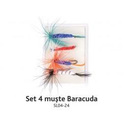 Set 4 muste Baracuda SL04- 24 (cutie)