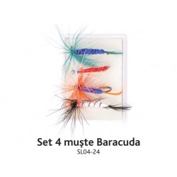 Set 4 muste Baracuda SL04- 24