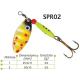 Lingurite rotative Spr 02 Baracuda 3g/5g