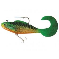 Set 4 bucati twister Baracuda LW023 de 8cm