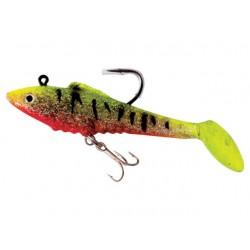 Set 4 bucati twister Baracuda LW025 de 9cm