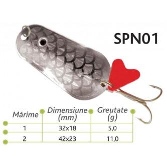 Lingurite oscilante Spn 01 Baracuda 5gr,11 gr