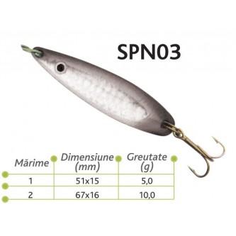 Lingurite oscilante Spn 03 Baracuda 5,10g