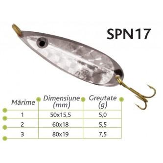 Lingurite oscilante Spn 17 Baracuda 5g/5.5g/7.5g