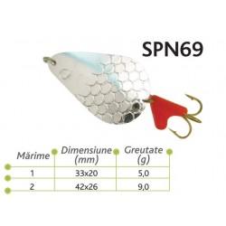 Lingurite oscilante Spn 69 Baracuda 5g/9g