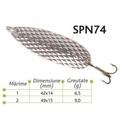 Lingurite oscilante Spn 74 Baracuda 6.5g/ 9g
