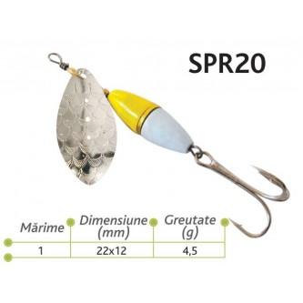 Lingurite rotative Spr 20 Baracuda 4.5g