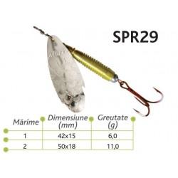 Lingurite rotative Spr 29 Baracuda 6g/11g