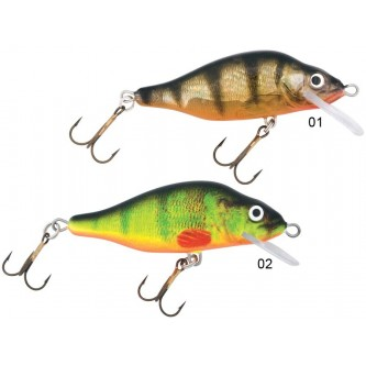 Vobler Mistrall Perch 90 mm, tip floating