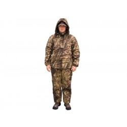 Costum gros pentru pescari tip camuflaj Baracuda