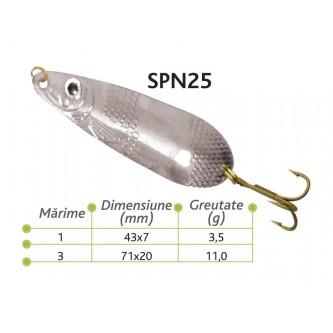 Lingurite oscilante Spn 25 Baracuda 3.5g/11g