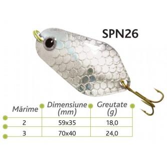 Lingurite oscilante Spn26 Baracuda 18g/24g
