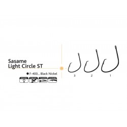 Ace pescuit Sasame Light Circle ST set 10 bucati