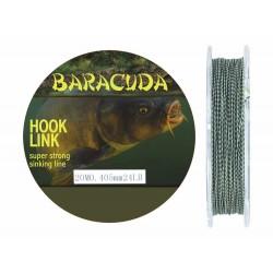 Fir textil monturi crap Baracuda Hook Link A, rezistenta la rupere 10.9 kg