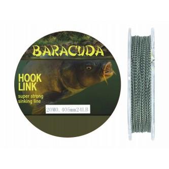 Fir Textil Hook Link A Baracuda pentru crap rezistenta 10.9kg