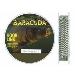 Fir Textil Hook Link B Baracuda pentru crap rezistenta 15.4kg