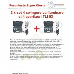 2 x set Baracuda 4 swinger iluminare si 4 avertizori TLI 03