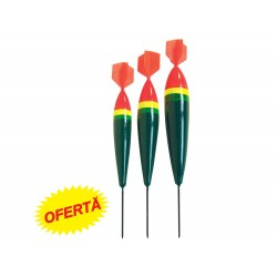 Set 3 plute lemn Baracuda flotabilitate 10/15/20 model S4