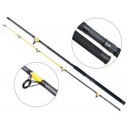 Lanseta amestec fibra de carbon si fibra de sticla Baracuda Catfish Fighter 270 m