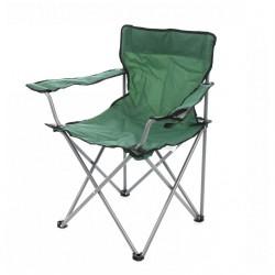 Scaun pescar/camping pliant GON01 structura metalica verde 52 x 52 x 80 cm