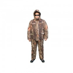 Costum pescar camuflaj Baracuda 3 pentru iarna