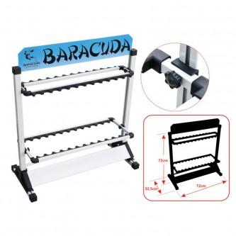 Stand din aluminiu pentru lansete Baracuda