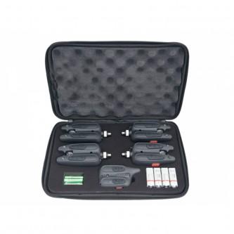 RF1118 - Set cu 4 avertizoare wireless + receptor Baracuda