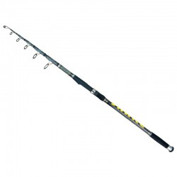 Lanseta telescopica fibra de carbon Baracuda Snake Tele Carp 3.9 m A: 3.5 lbs