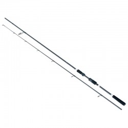 Lanseta spinning fibra de carbon Baracuda Black Pearl 205 A: 8-23 g