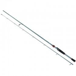 Lanseta spinning fibra de carbon Baracuda Zander Fest 2.2 m A: 7-21 g
