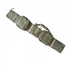 Geanta lansete crap C5-T Baracuda lungime 208 x 28 cm, pentru lansete de 3.9 m din doua tronsoane