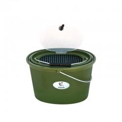 Cutie pescar pentru momeala vie sau prepararea nadei Baracuda HS325, 10 litri