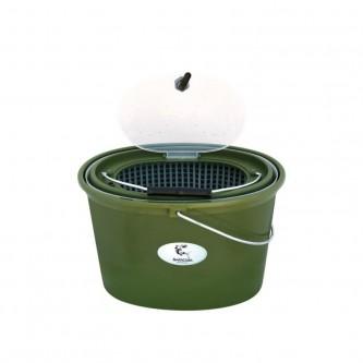 Cutie pescar HS325 pentru momeala vie sau prepararea nadei