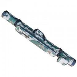 Geanta/tub pescar Baracuda B25, lungime 1.30 m pentru 2 lansete si o mulineta