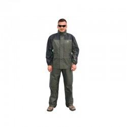 Costum impermeabil Behr 86-123+124, jacheta + pantaloni, culoare verde
