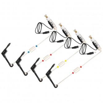 Set 4 swingere cu contragreutate si iluminare Baracuda