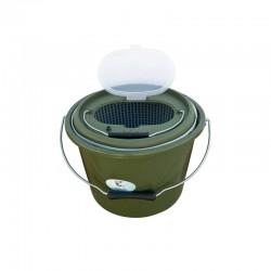 Cutie pescar galeata Baracuda HS324, 13 litri, verde