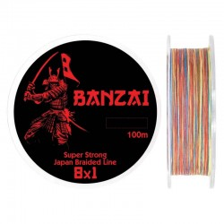 Fir textil Baracuda Banzai 100 m, multicolor