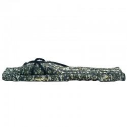 "Geanta transport lansete crap Baracuda B38 - 12"", lungime 195 cm, 3 compartimente, camuflaj digital"