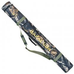 Geanta/tub dublu lansete Baracuda B41, lungime 140 cm, diametru 6.5 cm, camuflaj