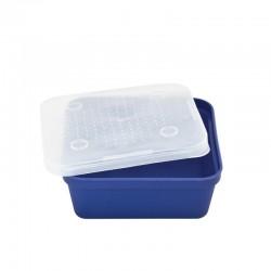 Cutie momeala vie Baracuda G011, 133x133x50 mm, albastru/alb
