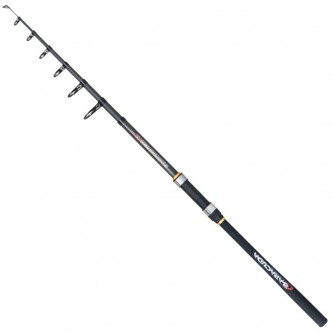 Lanseta spinning/stationar fibra de carbon Baracuda Avangard Tele 3.6 m A: 15-60 g
